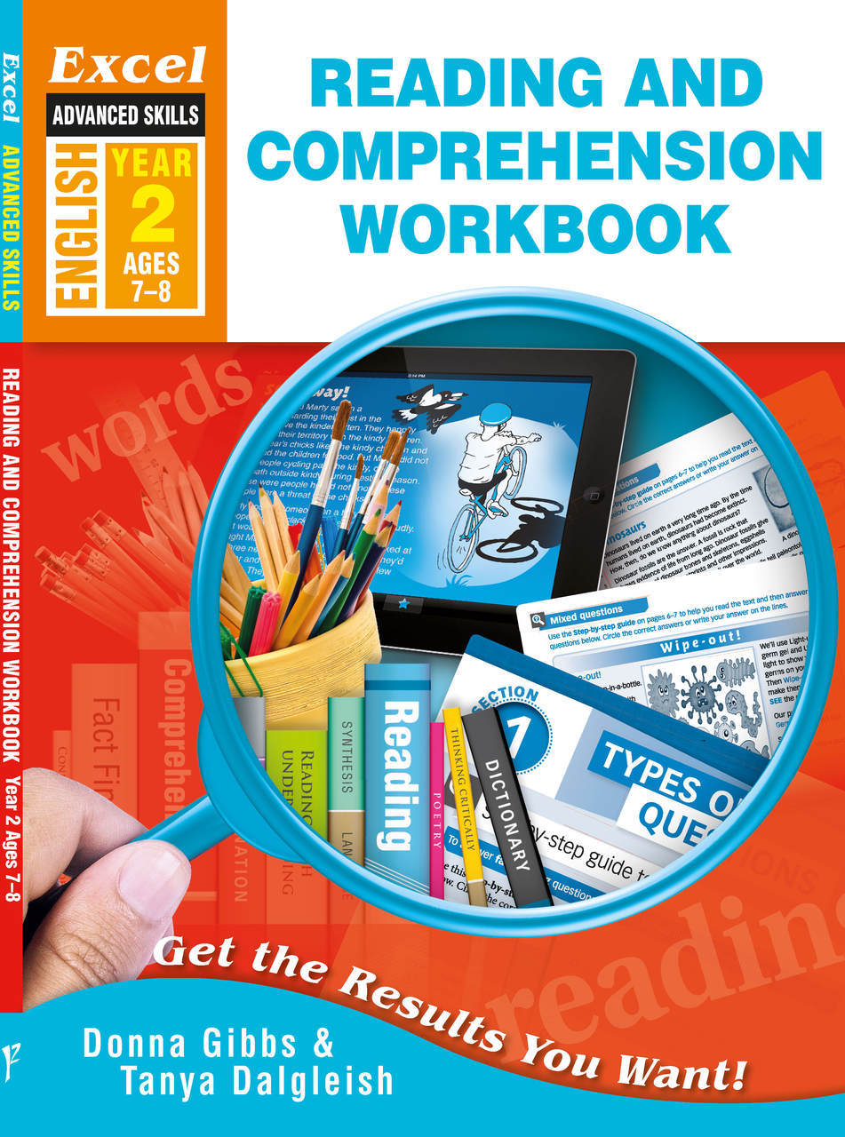 Excel Reading and Comprehension Worksheets, Year 2, 7-8 year ...