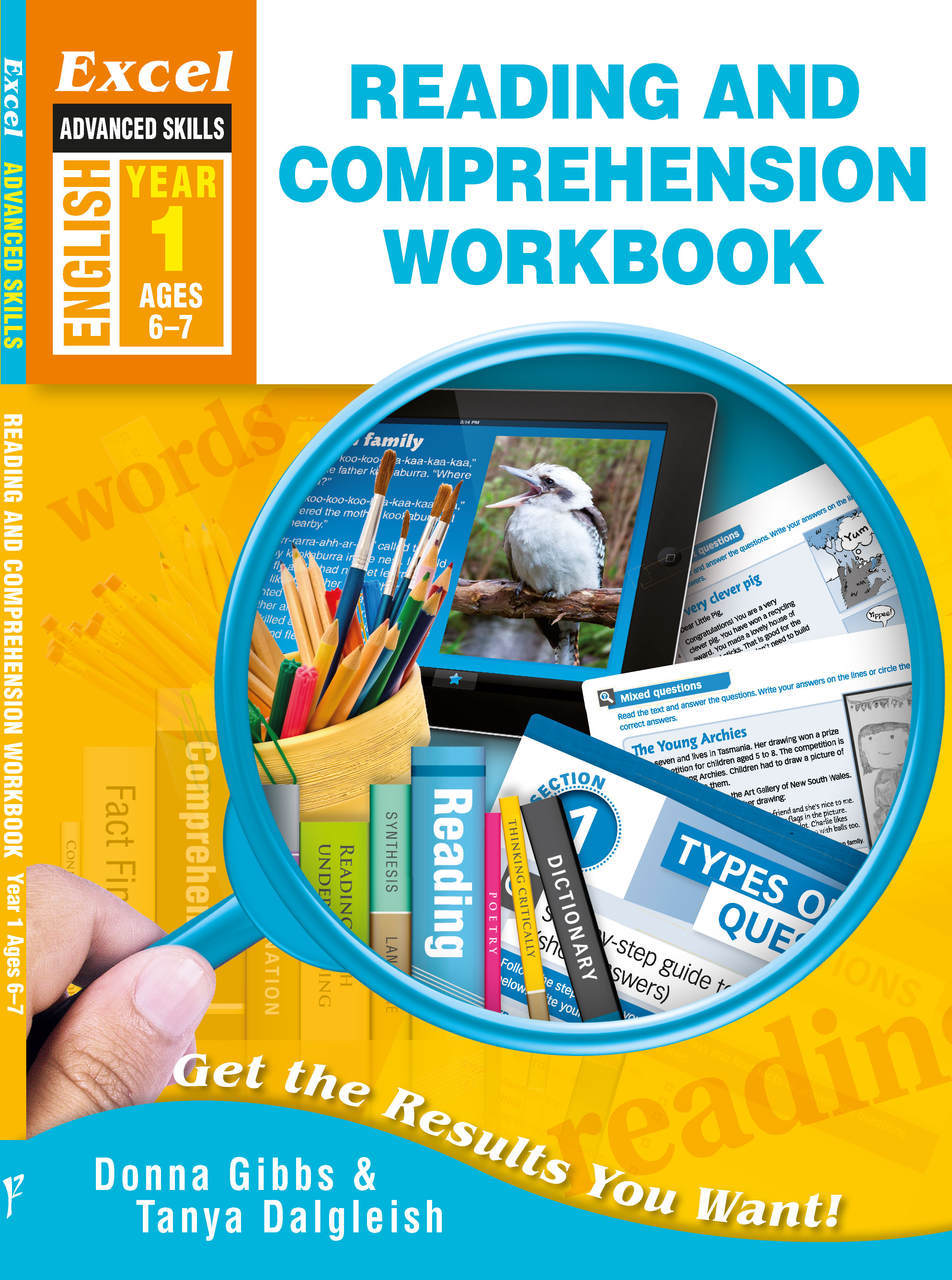 excel reading and comprehension worksheets year 1 6 7 year olds donna gibbs 39 books. Black Bedroom Furniture Sets. Home Design Ideas